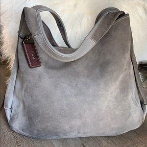Coach Bandit Suede Handbag